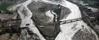 """Las imágenes satelitales que muestran la devastación de las inundaciones causadas por """"El Niño costero"""" en Perú"""