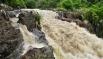 Lluvias afectarían dos quebradas por daños en volcán