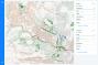 Mapa d'afectacions per l'esllavissada de fang a Mocoa, Colòmbia