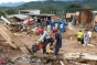 Groups of #volunteers help find survivors after #Mocoa landslide in #Colombia